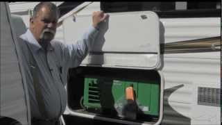 Virtual Video Tour of a 2013 Razorback Tow Hauler From Fife RV Center