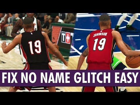 NBA 2K20 - How To Fix MyCareer No Name/Blank Jersey Glitch | PS4/XB1/PC/Switch