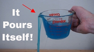 A Liquid That Pours Itself! The Self-Siphoning Fluid: Polyethylene Glycol