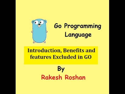 Go Programming Language \u2013 Rakesh Roshan