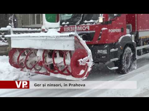Ger și ninsori, în Prahova