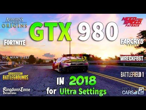 GeForce GTX 980 Test in 10 New Games