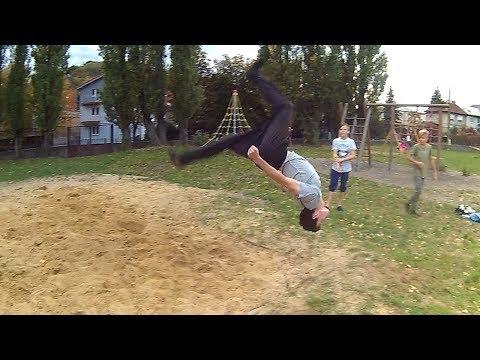 Parkour Training Day #30 – Niečo kratšie – Flying Emotions