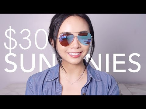 $30 SUNGLASSES: Prive Revaux Review | Cheap and stylish sunnies from Amazon | LvL
