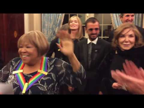 Backstage at the Kennedy Center Honors