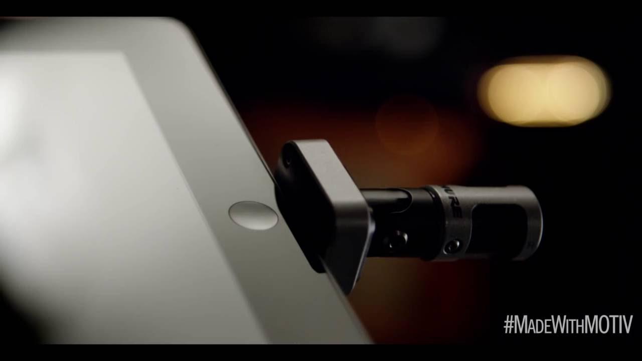 Shure MV88 iPhone iPad用コンデンサーマイク