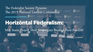 Click to play: Horizontal Federalism: May States Project their Sovereignty Beyond Their Borders?