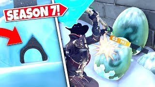 *NEW* SECRET ENTRANCE *FOUND* LEADING TO DRAGON EGGS AFTER NEW POLAR PEAK UPDATE! SEASON 7 UPDATE!