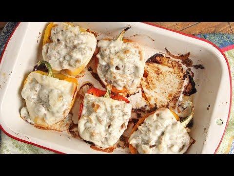 Cheese Steak Stuffed Peppers   Episode 1201