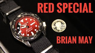 Seiko 5 Sports Brian May Limited Edition RED Special   Review   SRPE83K1   Olfert&Co