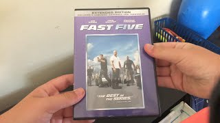 My Fast and The Furious DVD/Blu-Ray Collection