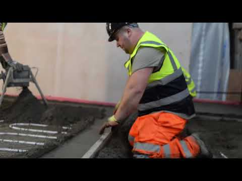 How to apply Isocrete K-Screed