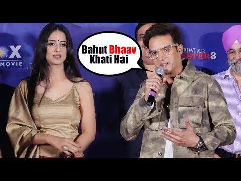 Jimmy Shergill INSULTS Mahi Gill At Saheb Biwi Aur Gangster 3 Song Launch