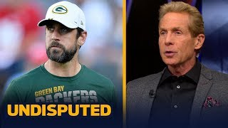 Skip Bayless has an issue with Aaron Rodgers' comments about Colts fans | NFL | UNDISPUTED