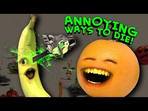 Annoying Orange - Annoying Ways to Die (видео)