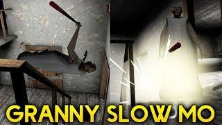 GRANNY IN SLOW MOTION + SUPER SPEED! NEW NULLZEREP MOD! - Granny