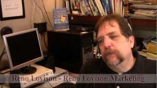 Video Marketing & Book Video Trailers - Money for Lunch Interview with Reno Lovison