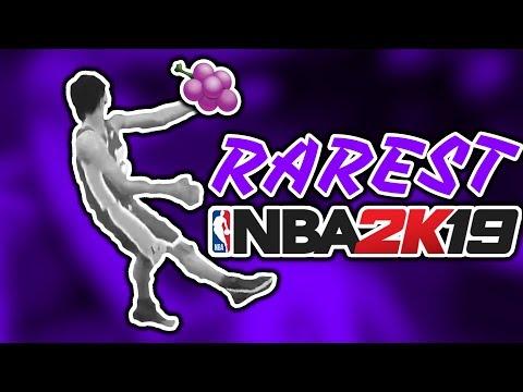 20 RAREST Jelly Layups In NBA 2K19