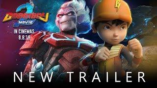 BoBoiBoy Movie 2  OFFICIAL TRAILER - In Cinemas August 8!