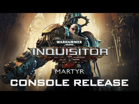 WIN A PS4 Pro: Custom made Warhammer 40K Inquisitor Martyr