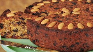 Fruit Cake Recipe Demonstration - Joyofbaking.com