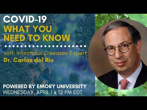 COVID-19 Q&A with Dr. Carlos del Rio