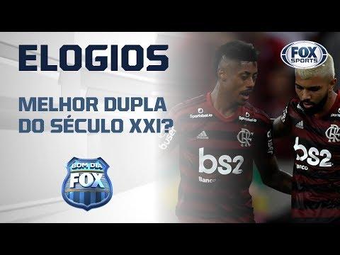 MELHOR DUPLA DO SÉCULO XI? Bancada rasgou elogios a dupla de ataque do Flamengo