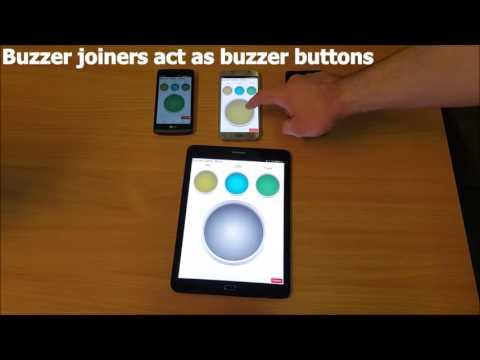 Quiz Buzzer app intro