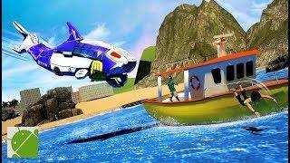 Robot Sea Shark Simulator - Android Gameplay FHD