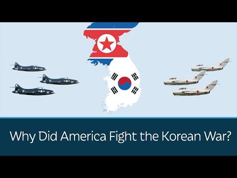 Proč Spojené státy bojovaly v Korejské válce?