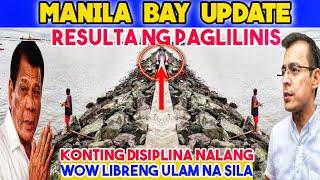 MANILA BAY UPDATE! PAGKATAPOS LINISIN DAGSA ANG TAO | AUGUST 9, 2020