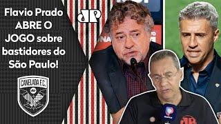 'Eu posso me enganar, mas não seria surpresa se o Crespo…' Flavio abre o jogo sobre o São Paulo!