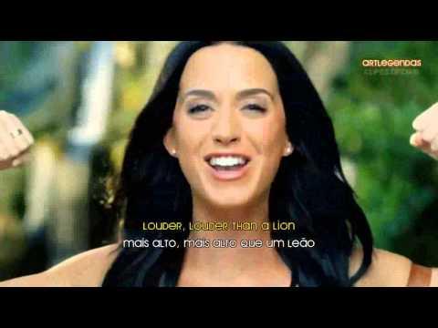 Katy Perry ROAR MusicVideo Legendado  LYRICS