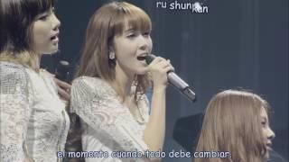 SNSD Let it rain Tokyo Primer Tour Japan Sub Español Live