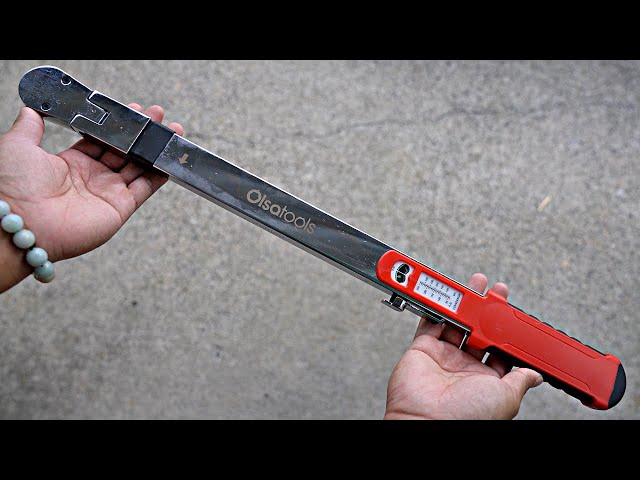 """Youtube Video for Split Beam Torque Wrench 1/2"""" Drive (50-250 ft-lb Torque Range) - ±4% Accuracy by Hai Tran"""