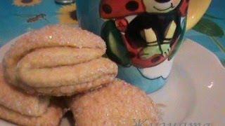 Смотреть онлайн Рецепт творожного печенья Треугольники или Лапки