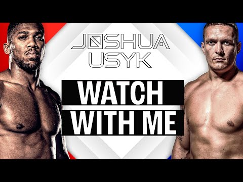 Boxing news || Anthony Joshua vs Oleksandr Usyk Commentary 'Realtalk Boxing' || Watch with me