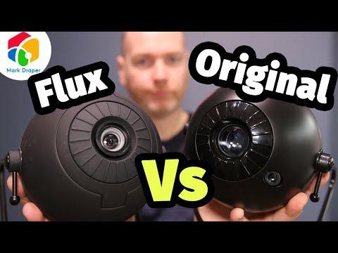 Sega Homestar Planetarium Original vs Flux