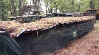 palombe.org Finalisation reconstruction de la palombière