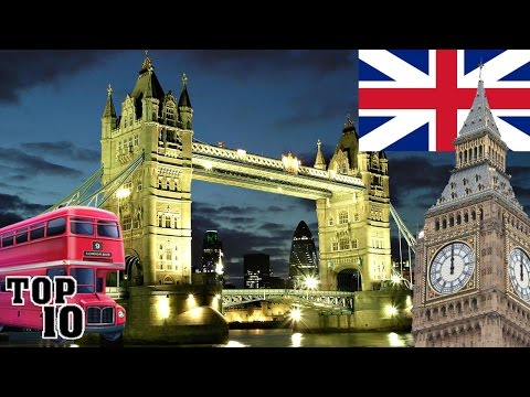 Video Top 10 Things To Do In London