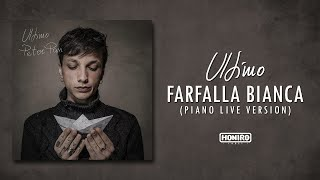 ULTIMO   15   FARFALLA BIANCA (PIANO LIVE VERSION)