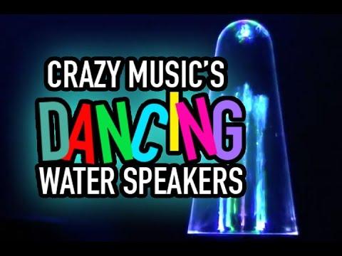 Crazy Music's Dancing Water Speakers