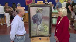 Top Finds: UPDATED 1904 Diego Rivera El Albañil Oil Painting