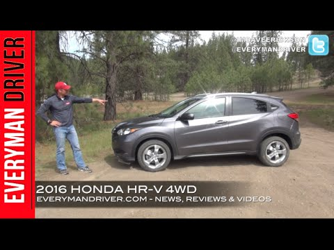 Off-Road Review: 2016 Honda HR-V 4WD on Everyman Driver