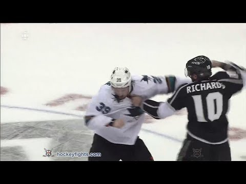 Mike Richards vs. Logan Couture