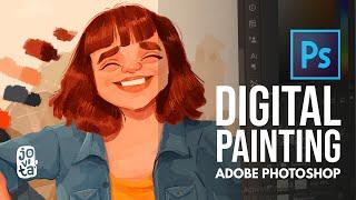 Digital Illustration   Adobe Photoshop Painting   Timelapse