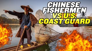 Chinese Fishermen VS US Coast Guard?! | China's Maritime Militia thumbnail