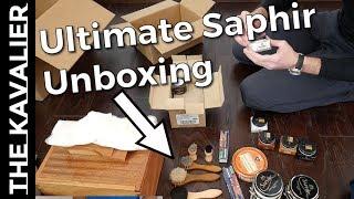 Kirby Allison's Ultimate Saphir Shoeshine Starter Kit - Unboxing