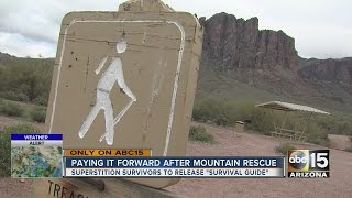 Three stranded in Superstitions overnight a week ago planning return trip