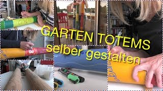 Garten-Totem Selbst Gemacht (UHD 4K) DIY Handmade Color Painting